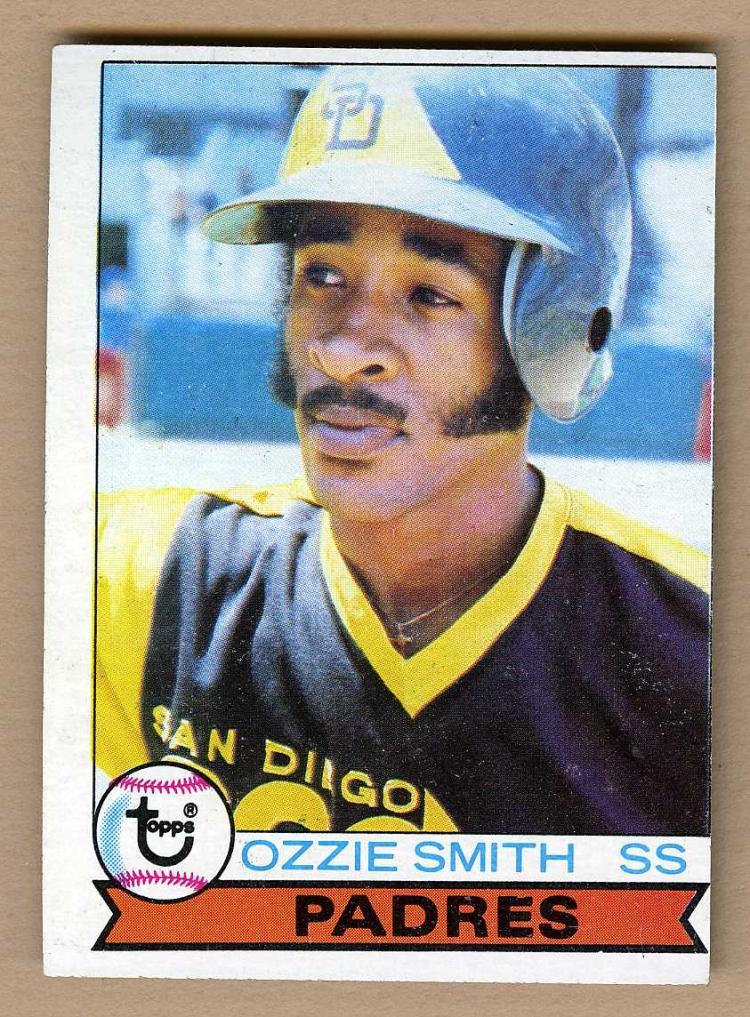 1978 Topps 115 Ozzie Smith Rookie Baseball Card