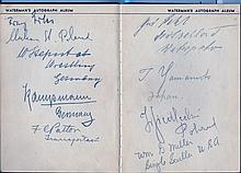 OLYMPIC GAMES 1932: An 8vo Waterman´s autograph