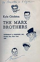 MARX BROTHERS THE: Book signed, a hardback edition