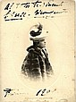 DUSE ELEONORA: (1858-1924) Italian Actress.