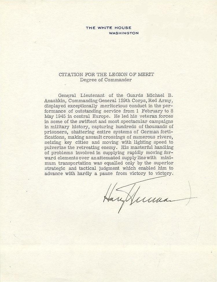 american legion letterhead template - truman harry 1884 1972 american president 1945 53 t l s