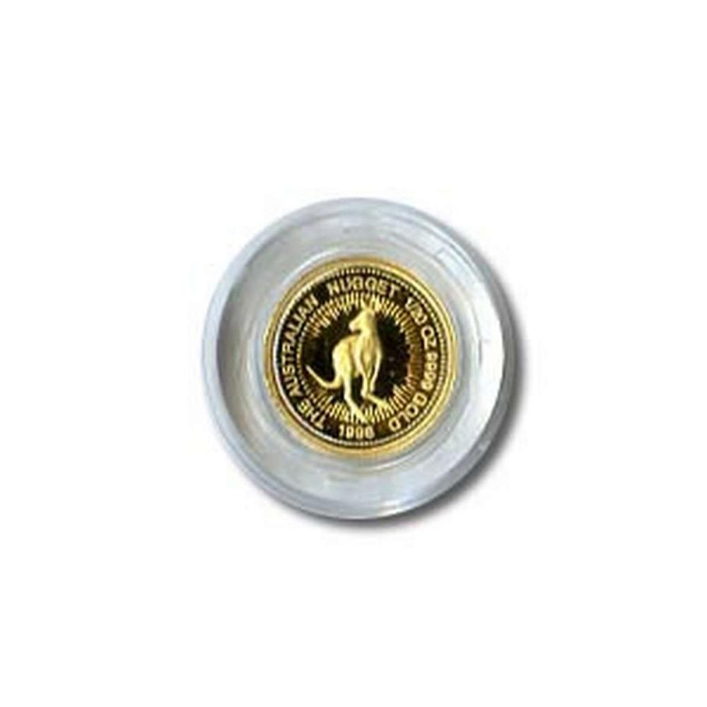 Australian Gold Nugget 20th Ounce (dates our choice) #IRS95879