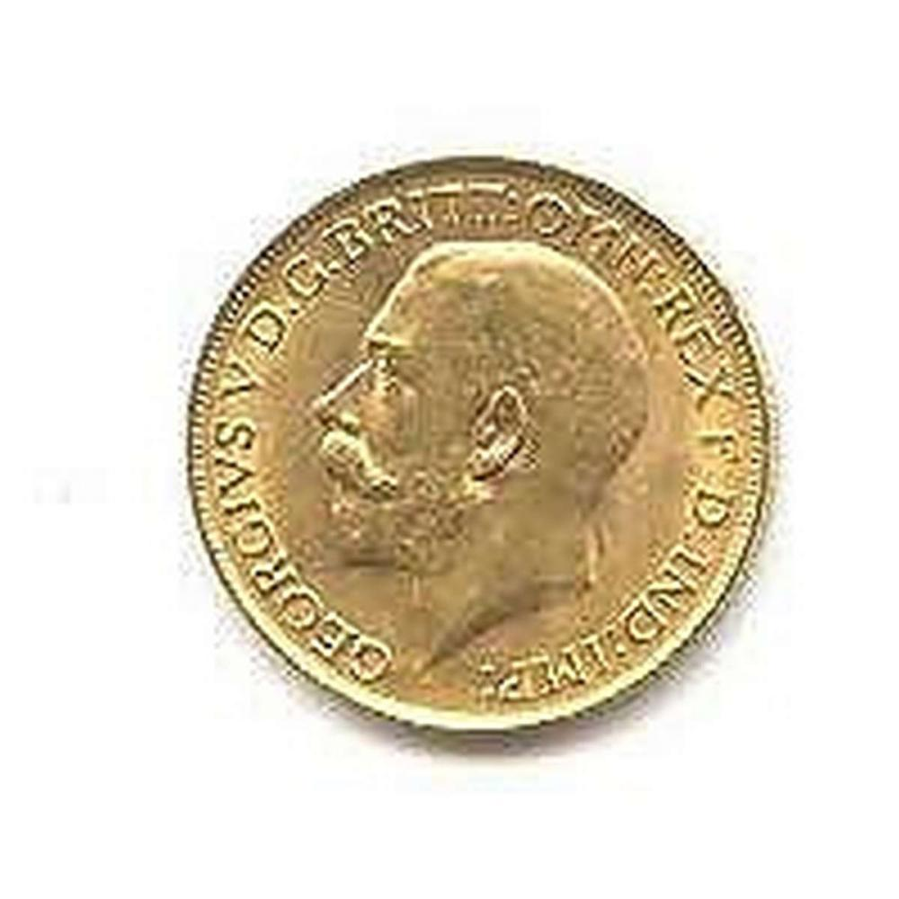 Lot 9114033: English Sovereign (King or Queen) Gold Coin Our Choice #IRS95057