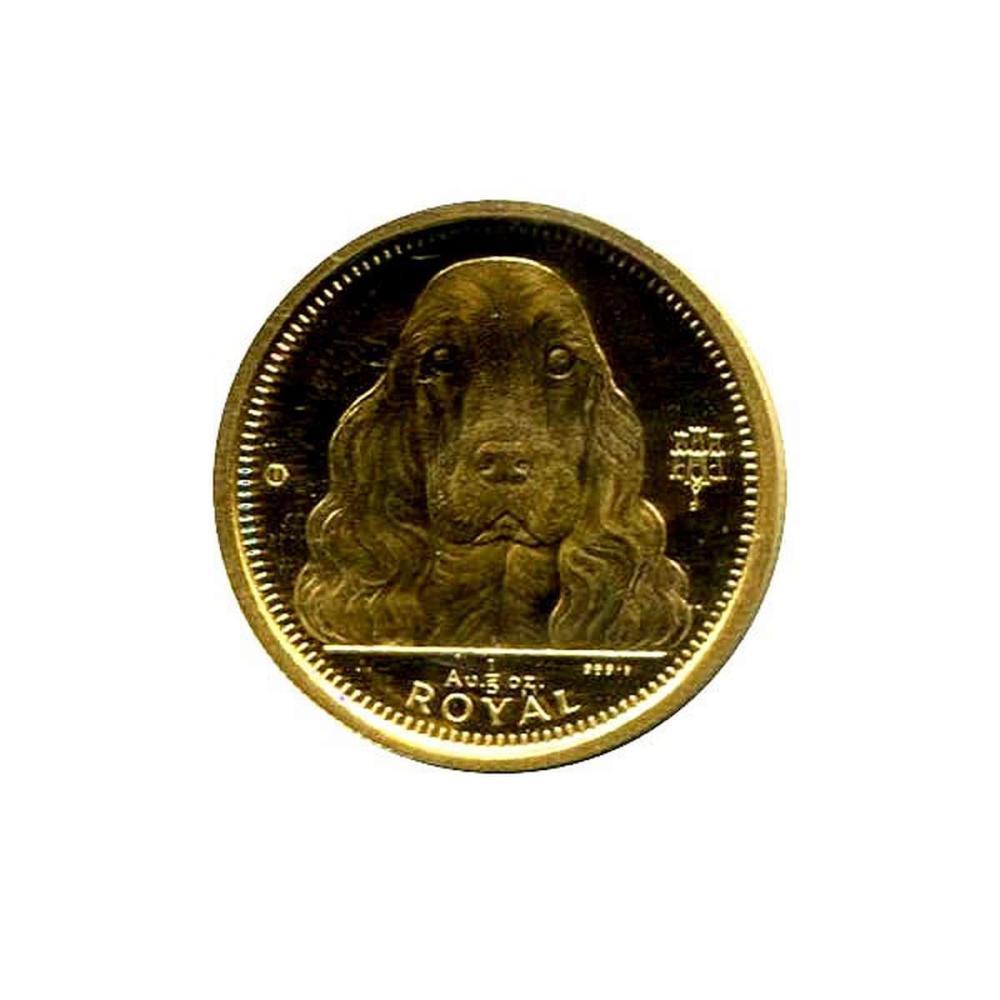 Gibraltar 5th Royal Gold 1992 Cocker Spaniel #IRS95913