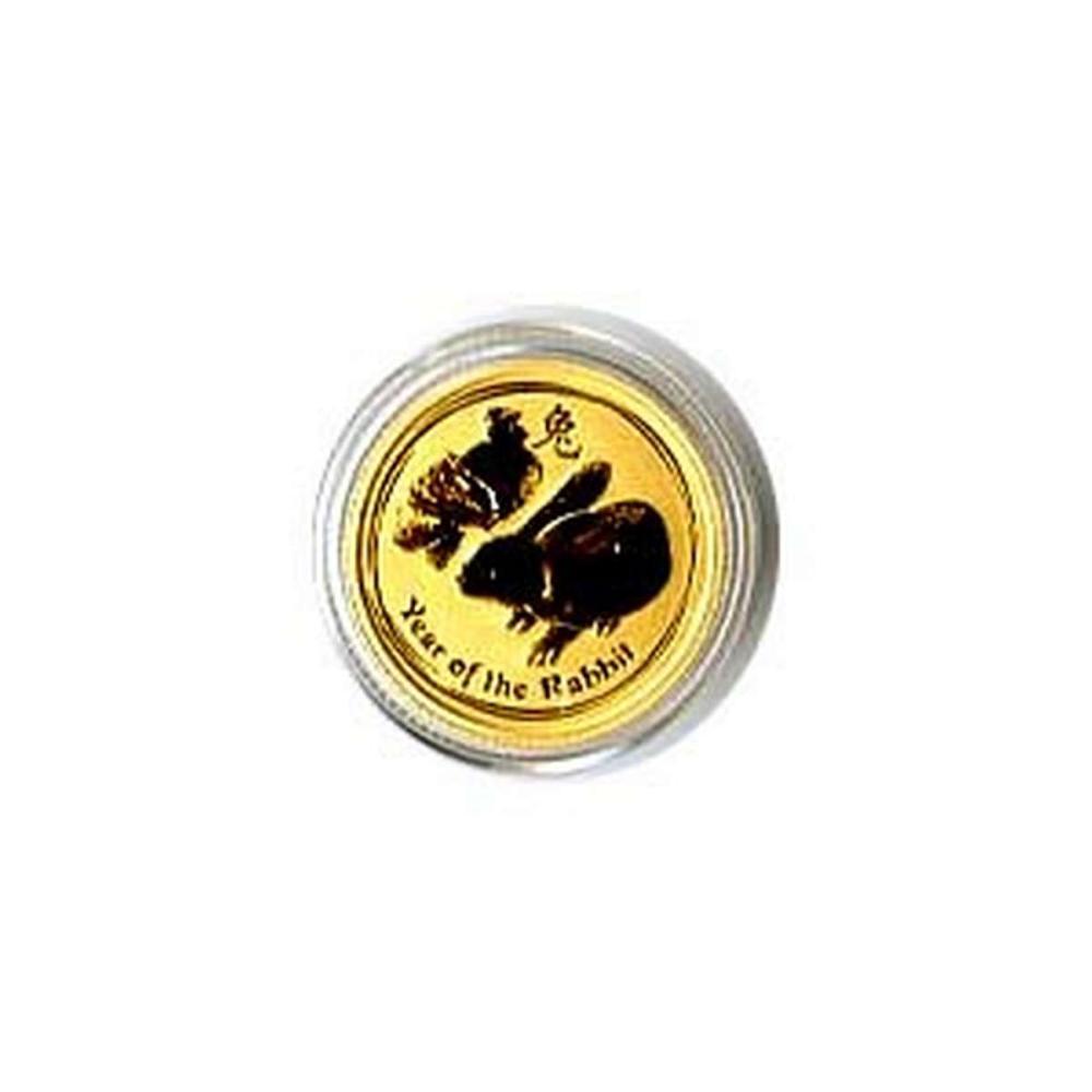 Australian Series II Lunar Gold Tenth Ounce 2011 Rabbit #IRS95842