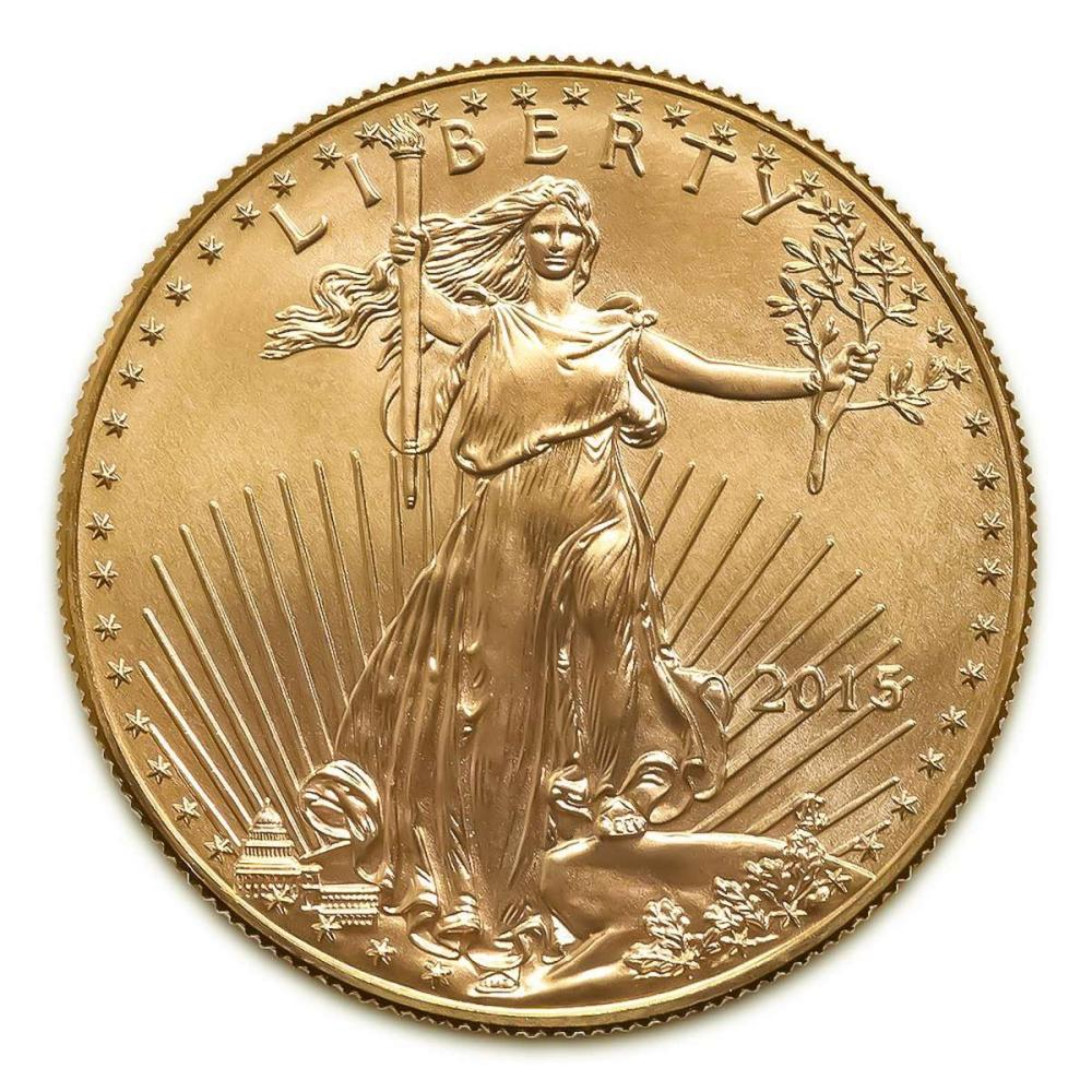 2015 American Gold Eagle 1/4 oz Uncirculated #IRS25882