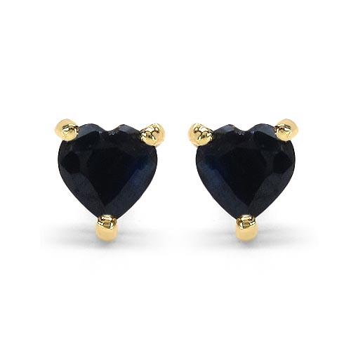 Sapphire Blue:Heart/4.00mm 2/0.70 ctw #29269v3