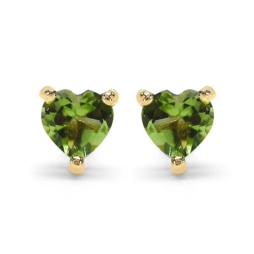 Peridot:Heart/4.00mm 2/0.50 ctw #29274v3