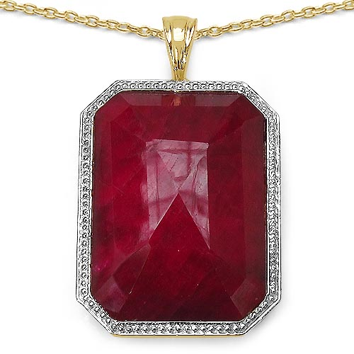 Ruby:Octagon/26x19mm 1 /45.70 ctw #29432v3