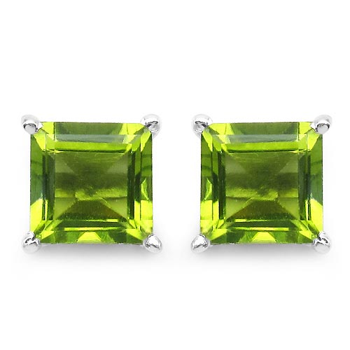 Peridot:Square/6.00mm 2/2.30 ctw #29304v3