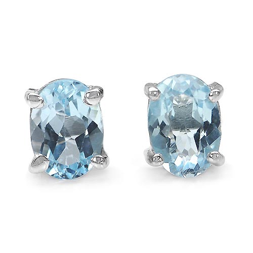 Topaz Blue:Oval/7x5mm 2/2.00 ctw #29151v3