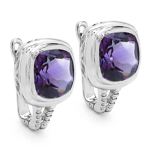 Amethyst:Cushion/10.00mm 2/7.10 ctw #29173v3