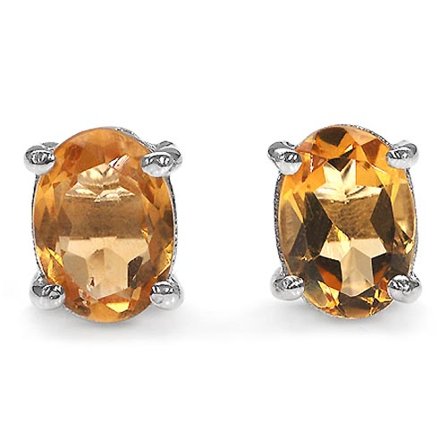 Citrine:Oval/7x5mm 2/1.70 ctw #29152v3