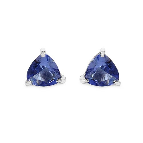 Tanzanite:Trillion/4.00mm 2/0.46 ctw #33505v3