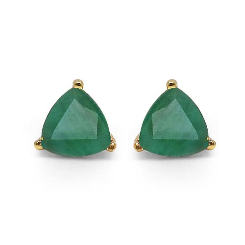 Emerald:Trillion/4.00mm 2/0.50 ctw #29280v3