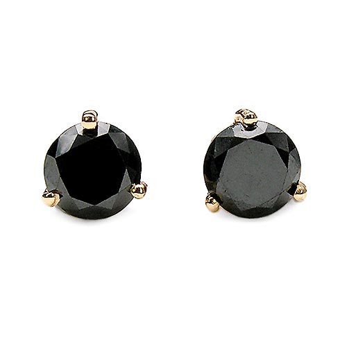 Diamond Black:Round/0.74-0.75Pt 2/1.49 ctw #33506v3