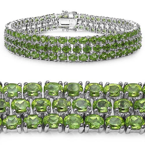 Peridot:Oval/4x3mm 131/26.20 ctw #33299v3