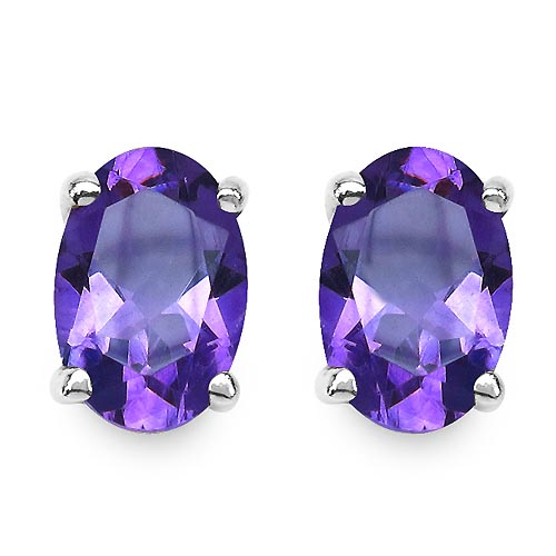 Amethyst:Oval/6x4mm 2/0.85 ctw #29299v3