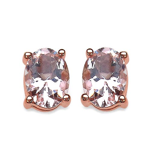 Morganite:Oval/ 7x5mm 2/1.70 ctw #29153v3
