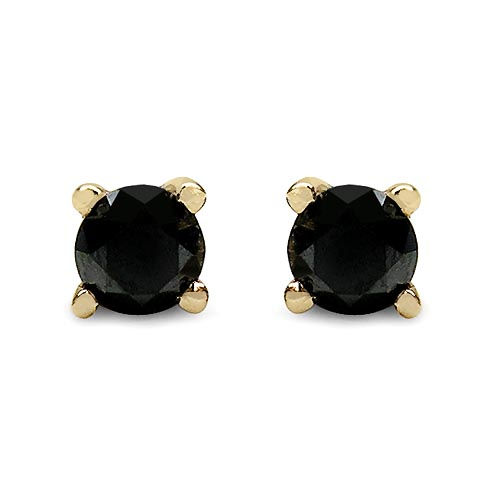 Diamond Black:Round/0.41Pt 2/0.82 ctw #29210v3