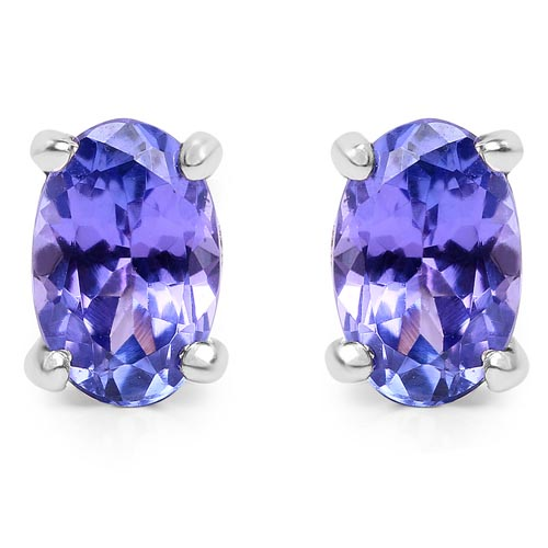 Tanzanite:Oval/ 6x4mm 2/0.88 ctw #29161v3