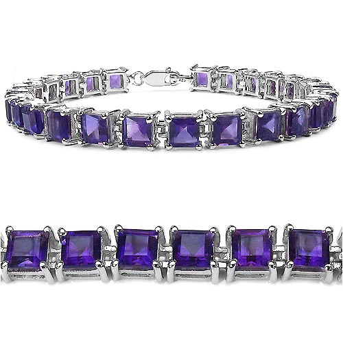 Amethyst:Square/5.00mm 25/15.00 ctw #29017v3