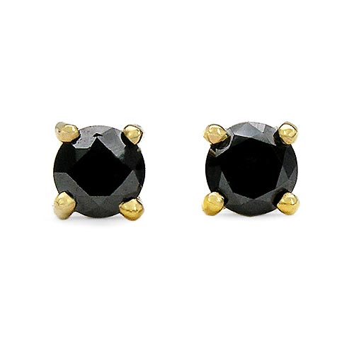 Diamond Black:Round/0.64Pt 2/1.28 ctw #33509v3