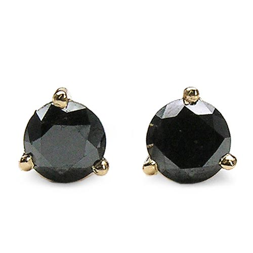 Diamond Black:Round/4.00mm 2/0.83 ctw #33507v3