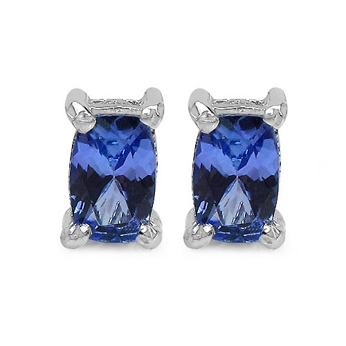 Tanzanite:Cushion/6x4mm 2/1.06 ctw #33531v3