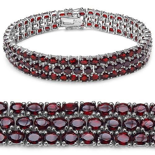Garnet:Oval/4x3mm 131/26.20 ctw #33297v3