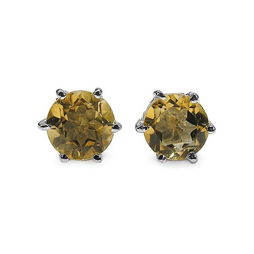 Citrine:Round/6.00mm 2/1.54 ctw #29245v3