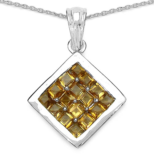 Citrine:Square/2.90mm 16/2.40 ctw #29406v3