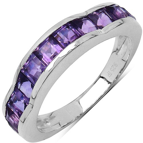 Amethyst:Square/3.00mm 11/1.68 Ctw #33702v3