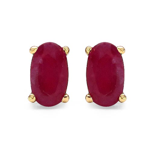 Ruby:Oval/5x3mm 2/0.70 ctw #29268v3