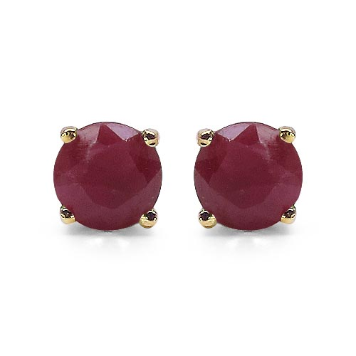 Ruby:Round/4.00mm 2/0.70 ctw #29298v3