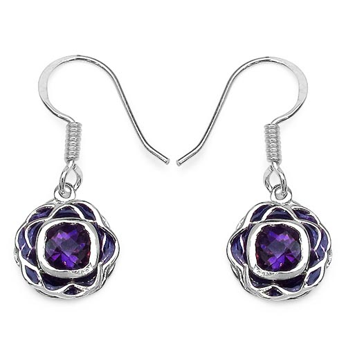 Amethyst:Cushion/6.00mm 2/1.80 ctw #29199v3
