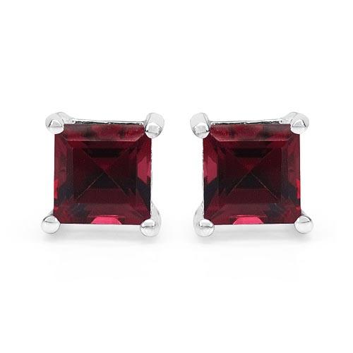 Rhodolite:Square/5.00mm 2/1.77 ctw #29172v3
