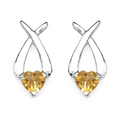 Citrine:Heart Shape/6.00mm 2/1.40 ctw #29229v3