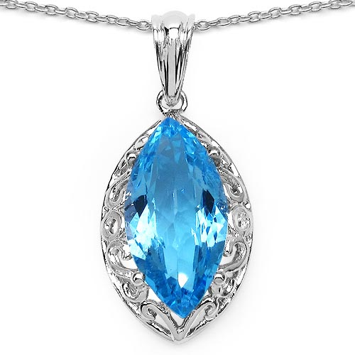 Topaz Blue:Marquise/18x9mm 1/8.22 ctw Pc #29344v3