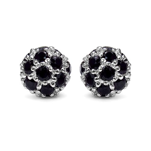 Black Spinel:Round/2.10mm 42/1.68 ctw #29124v3