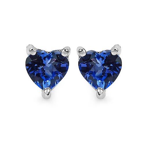 Tanzanite:Heart Shape/5.00mm 2/0.90 ctw #33530v3