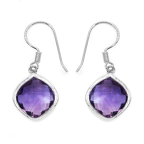 Amethyst:Cushion/12.00mm 2/10.60 ctw #33542v3