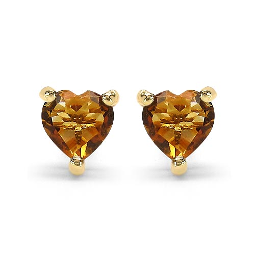Citrine:Heart/4.00mm 2/0.50 ctw #29271v3