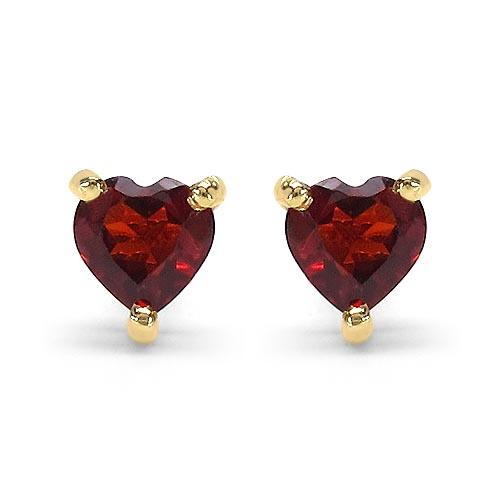 Garnet:Heart/4.00mm 2/0.70 ctw #29273v3