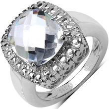 Quartz Crystal:Cushion/12x10mm 1 #33738v3