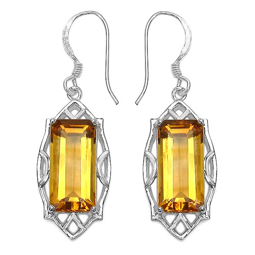 Citrine:Octagon/16x8mm 2/11.20 ctw #29312v3