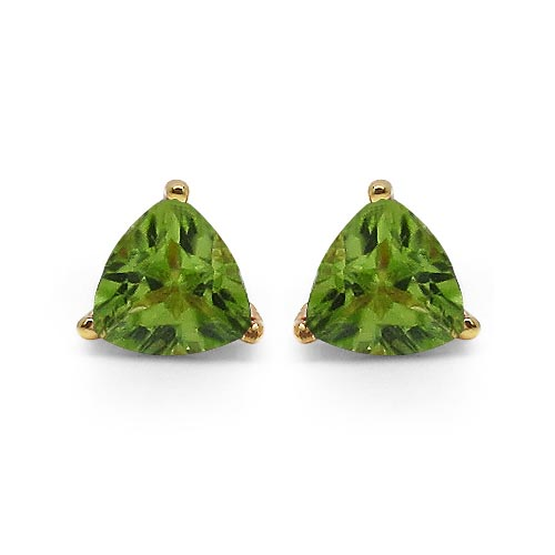 Peridot:Trillion/4.00mm 2/0.50 ctw #29282v3