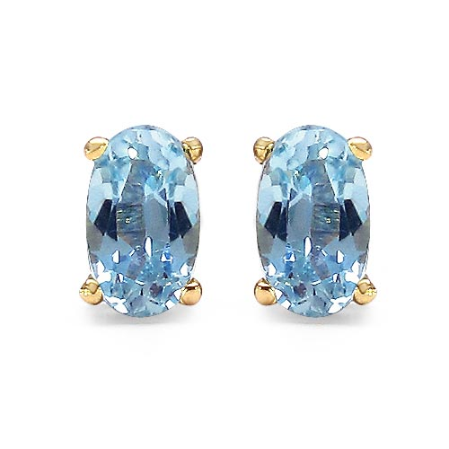 Topaz Blue:Oval/5x3mm 2/0.70 ctw #29263v3
