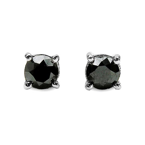 Diamond Black:Round/0.62Pt 2/1.24 ctw #33508v3