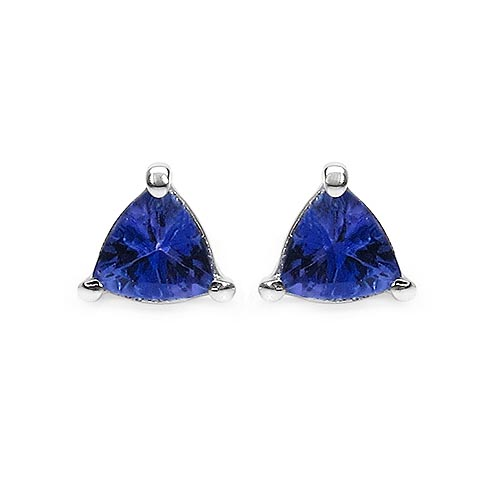 Tanzanite:Trillion/5.00mm 2/0.89 ctw #33504v3